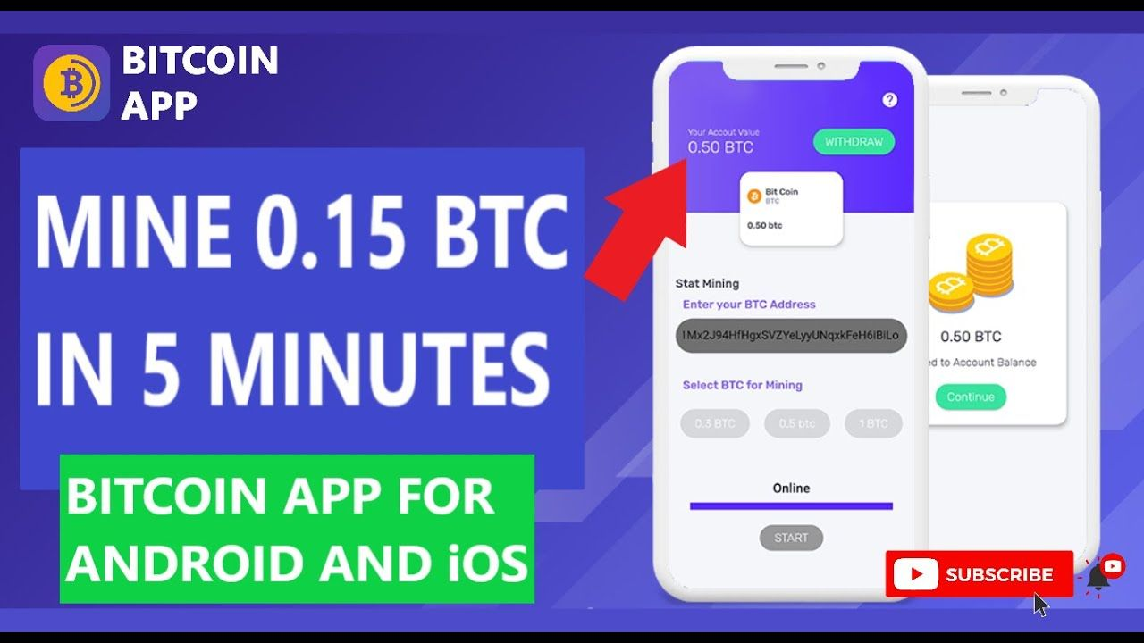 bitcoin android miner app